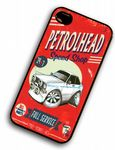 KOOLART PETROLHEAD SPEED SHOP Ford Escort Mk2 Mexico hard Case For iPhone 4 4s